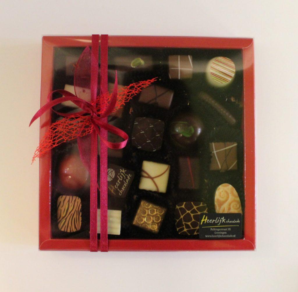 Heerlijk chocolade bestellen 22-stuks