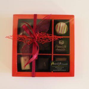Heerlijk chocolade bestellen 9-stuks